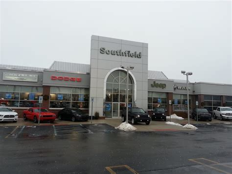 southfield dodge chrysler jeep front of dealership yelp