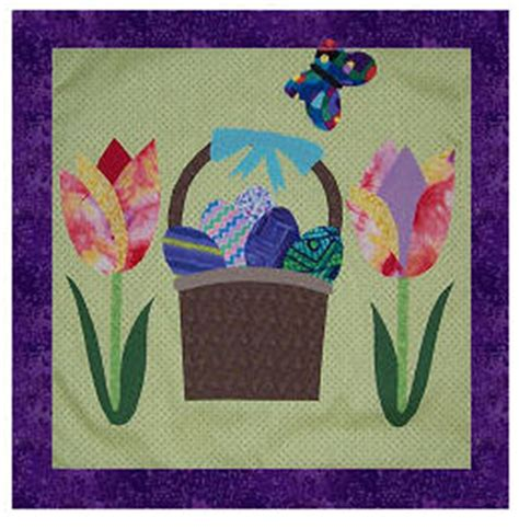 Free Easter Quilt Patterns by Quilt Inspiration Free Pattern Day Easter And