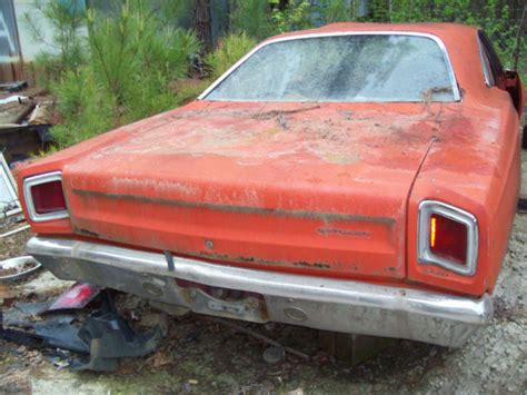 1969 plymouth roadrunner parts 1969 roadrunner for parts or to build no title motor