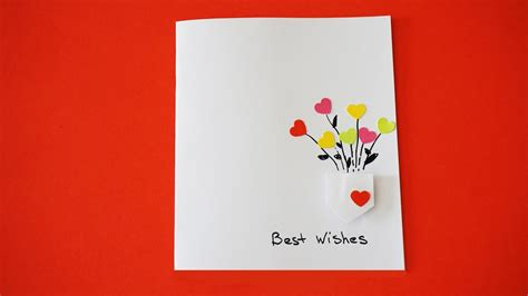 how to make the best greeting card best wishes card diy greeting card