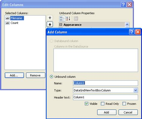 datagridview layout event basic file io and the datagridview codeproject