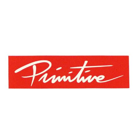 Primitive Stickers primitive box logo sticker