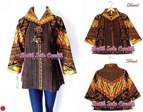 Mirza Blouse Batik by Baju Batik Model Cacah Terbaru Baju Kerja Batik