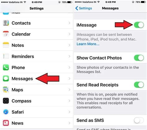how to update imessage number imessage not working on ios 10 ios 11 ios 9 iphone