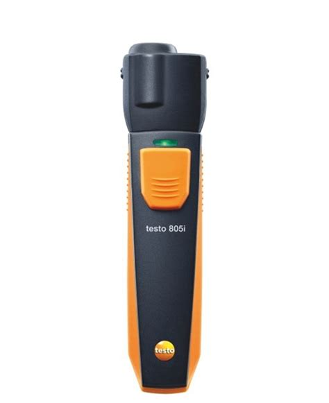to testo testo 805i infrared thermometer bluetooth testo ltd