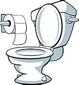 Bathroom Toilet Clipart Potty Clip Royalty Free Gograph