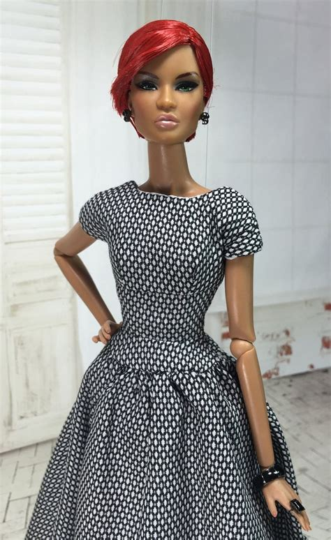 black doll 2015 redressing a favorite from 2015 dolls black and