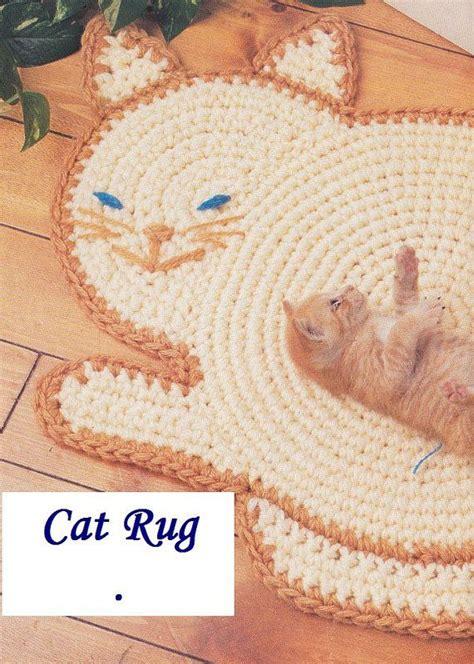 etsy cat pattern cat rug crochet pattern