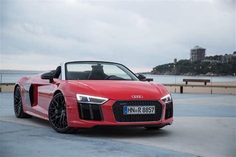 Audi R8 Test by Audi R8 Audi R8 Spyder Im Test 2016