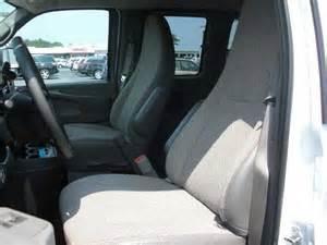 2010 gmc savana genuine leather seat covers