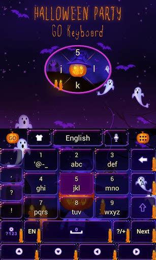Halloween Themes For Android | halloween party keyboard theme for android free download