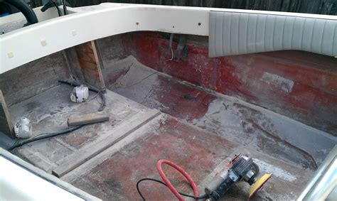 boat carpet guys removing boat carpet and gel coating the interior page