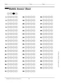 Blank Answer Sheet Template 1 100 by Answer Sheet Images