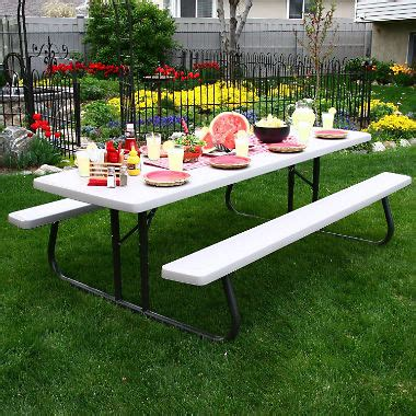 lifetime 8 picnic table lifetime commercial 8 picnic table putty sam s
