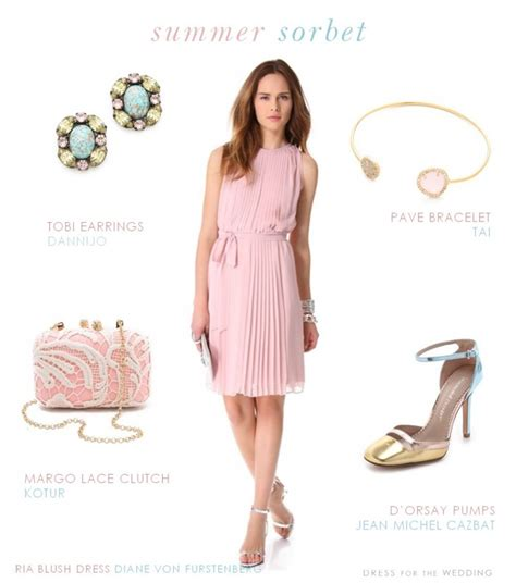 June Wedding Attire by Pink Dresses For A Wedding Guest