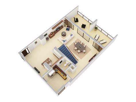 presidential suite floor plan 3d floor plans caribe hilton san juan