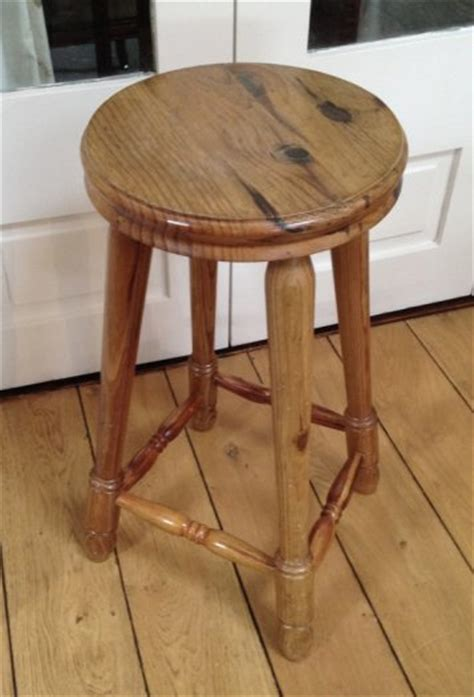 sturdy pine kitchen stool for sale in dalkey dublin from