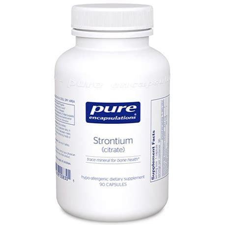 Lithium Detox Protocol by Encapsulations Strontium Citrate 90 Vitamin C Formula