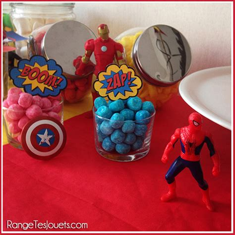 Un anniversaire de Super Héros pour fêter ses 4 ans