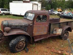 1947 Dodge Truck Parts Sell Used 1947 Dodge Power Wagon 4x4 Shop Truck Patina Rat