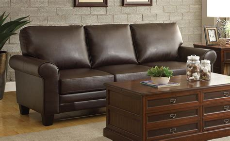 homelegance hume sofa brown 8579db 3