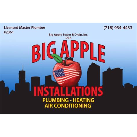 Plumbing Heating Air Conditioning by Big Apple Installations Plumbing Heating Air