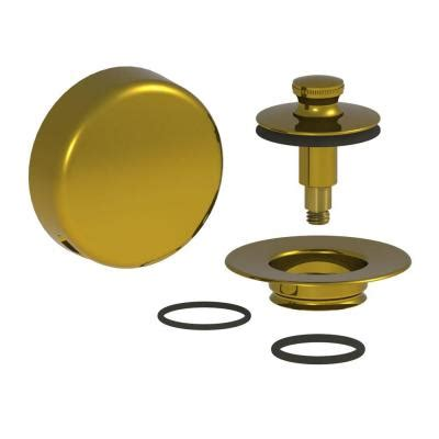watco quicktrim lift and turn bathtub stopper with