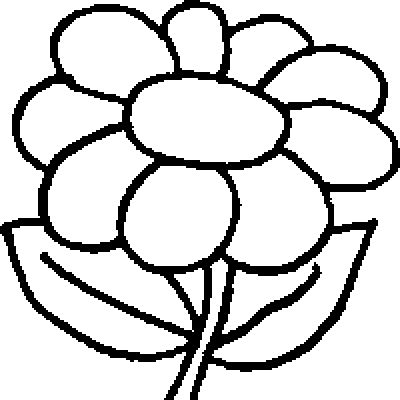 coloring pictures of flowers for preschoolers flower coloring pages dr odd