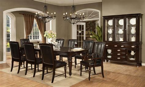7 piece formal dining room set dining room table and 6 dundee place 7 piece dining room set gonzalez furniture