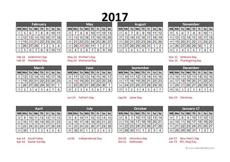 retail schedule template 2017 accounting calendar 5 4 4 free printable templates
