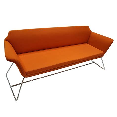 sofa orange color china modern style fabric casual sofa orange color new
