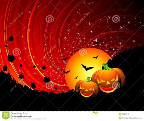 halloween themed pictures illustration on a halloween theme stock vector image