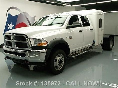 Dually Sleeper by Sell Used 2012 Dodge Ram 4500 Crew Diesel Dually Sleeper