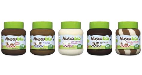 Nuscobio Hazelnut Chocolate Spread brinkers launches new range of organic chocolate spreads