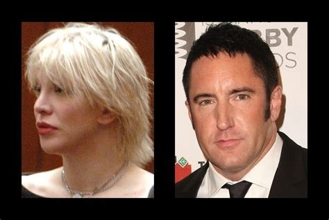 trent reznor hairstyle courtney love had a fling with trent reznor courtney