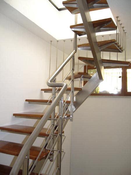scale in acciaio per interni bruno acciai scala da interni in acciaio con gradini il