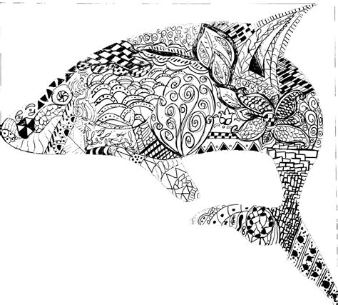 coloring pages for adults difficult animals 15235