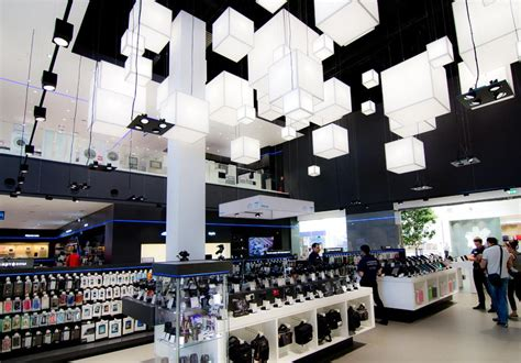 Lighting Fixture Store Technopark Store Lighting Project