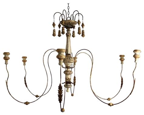 Aidan Gray Italian Chandelier Aidan Gray Italian Wedding Candle Chandelier Traditional
