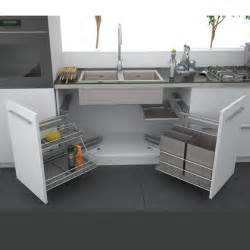 Kitchen Sink Cabinet Keeping The Sink Cabinet Hygienic And Clean Home Interior Design