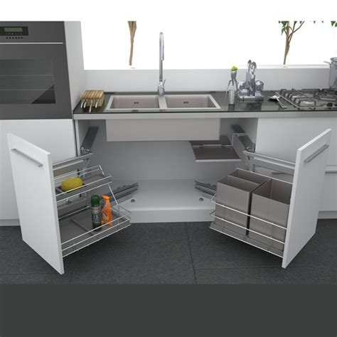 kitchen sink with cabinet keeping the under sink cabinet hygienic and clean home