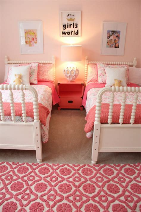 little girl room monday makeover shared little girls room