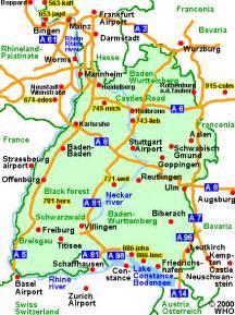 Baden Germany Map by Road Map Baden Wurttemberg Stuttgart Karlsruhe Baden Baden
