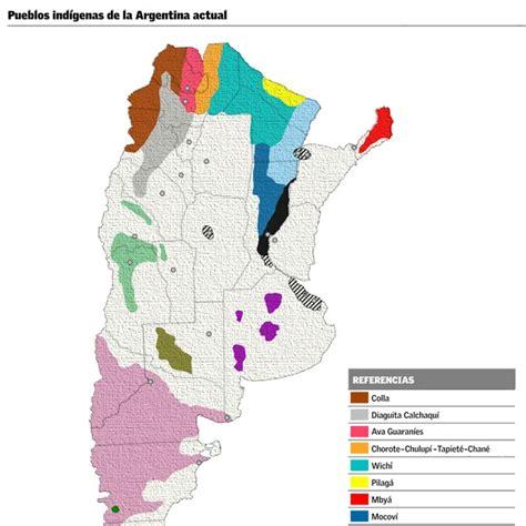 mapa america pueblos originarios nuestros aborigenes situacion geografica
