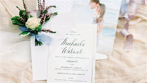 Bridal Shower Invitations We Absolutely Love   Martha