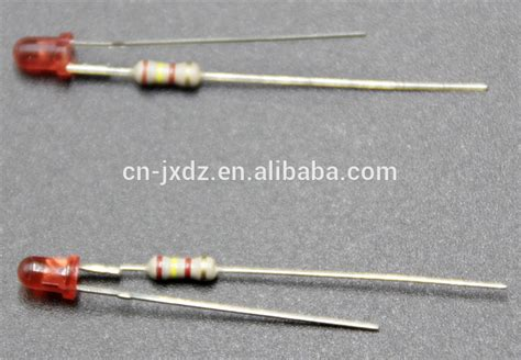 buy led resistors miniature led indicator built with resistor and electric wire led as indicator buy led led