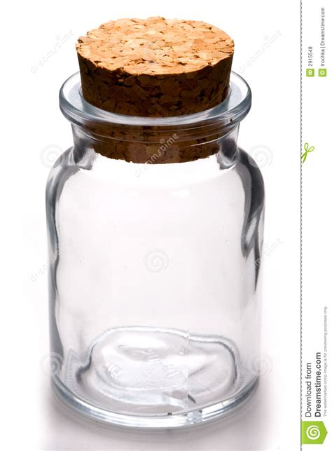 Glass Kitchen Canister empty jar royalty free stock photos image 2915548