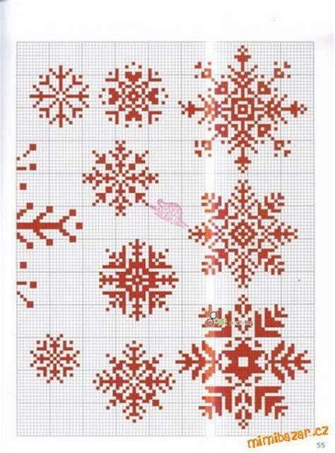 snowflake pattern cross stitch cross stitch snowflakes sewing pinterest