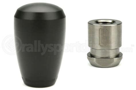 grimmspeed black delrin shift knob w5spd boot retainer