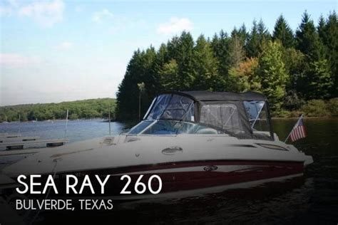 used sea ray boats for sale in texas for sale used 2009 sea ray 260 in bulverde texas boats